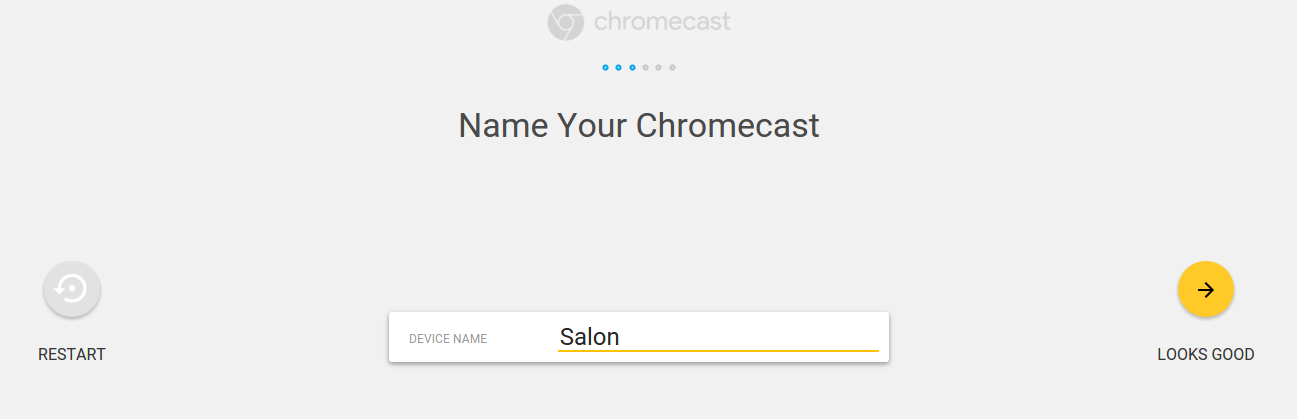 how to change the wifi on my chromecast